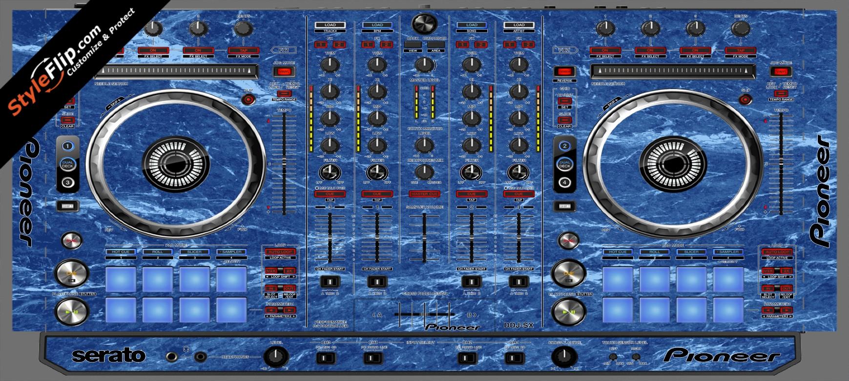 Blue Marble  Pioneer DDJ-SX