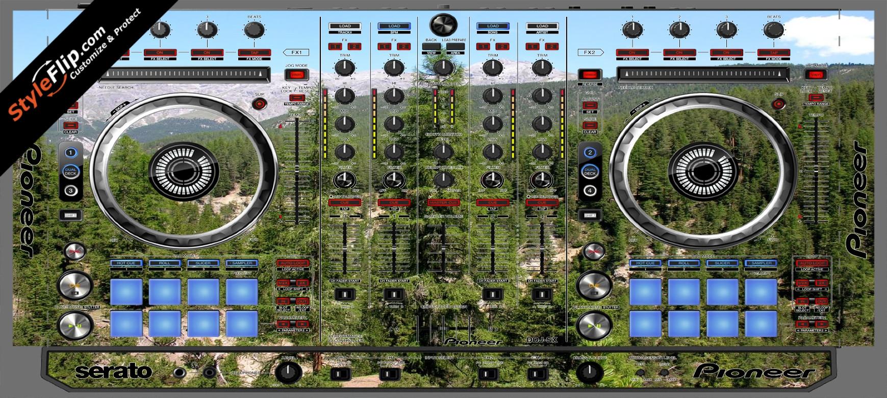 Deep In the Woods 2 Pioneer DDJ-SX