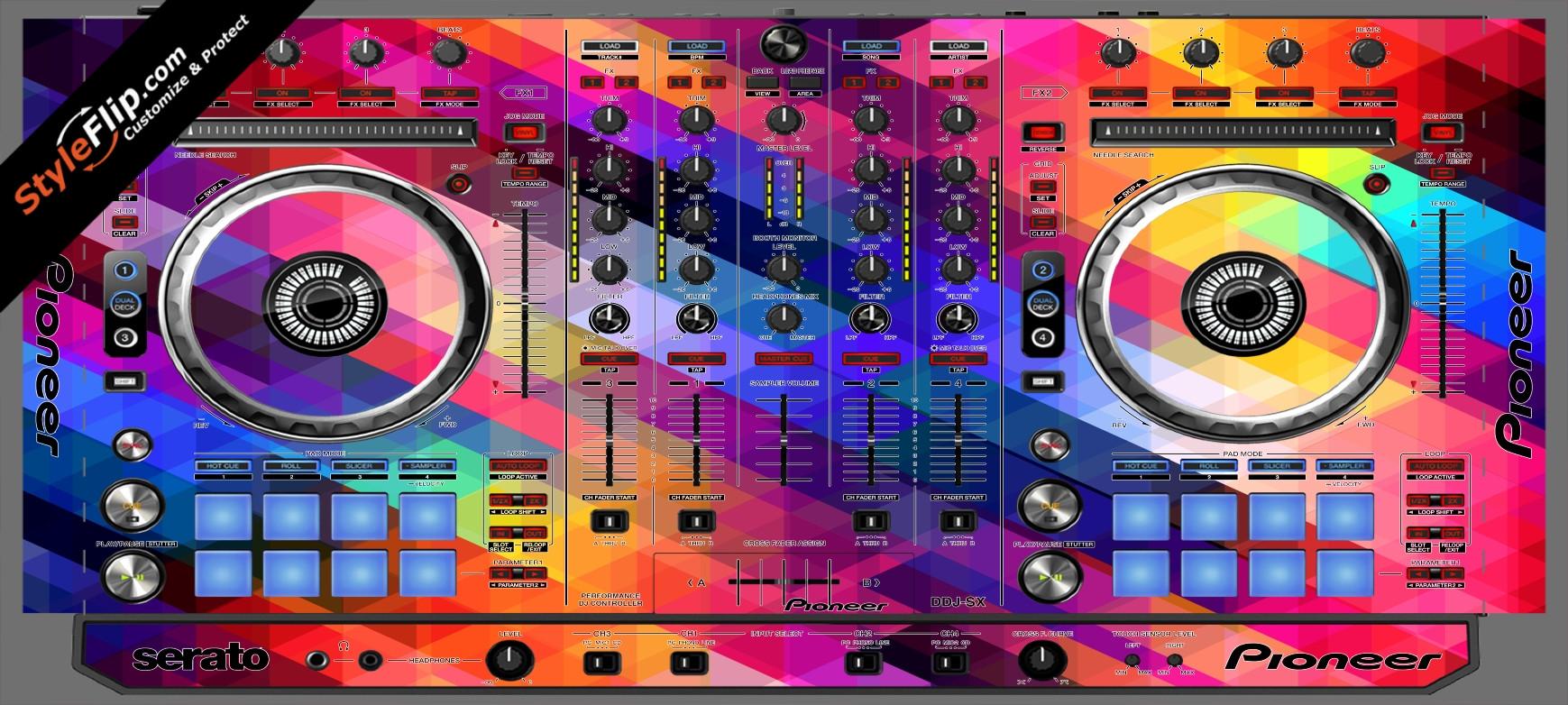 Dreamscape Pioneer DDJ-SX