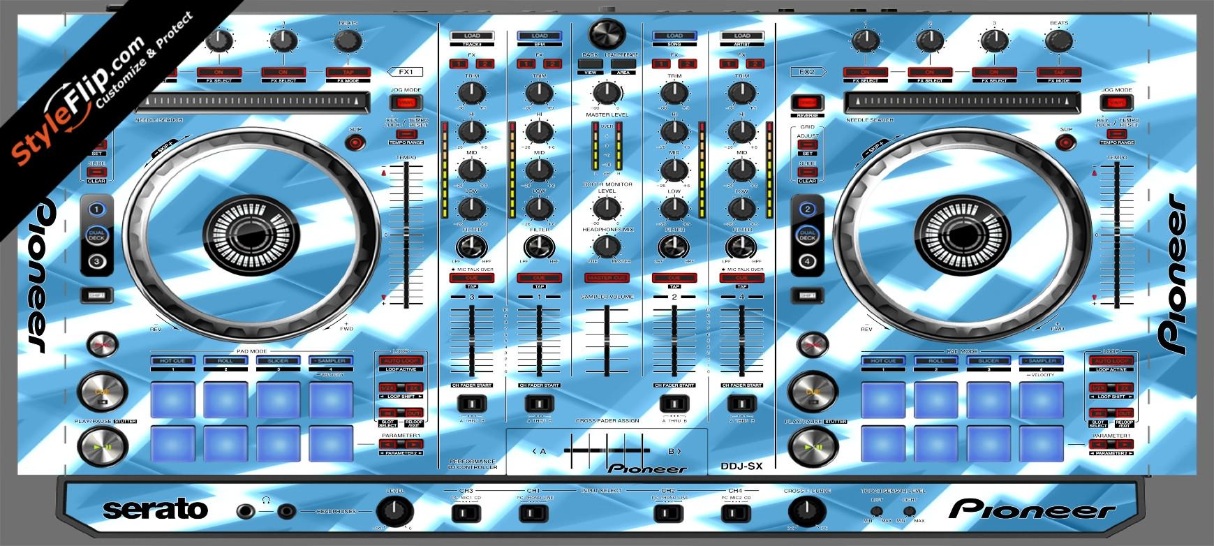 Frozen Pioneer DDJ-SX