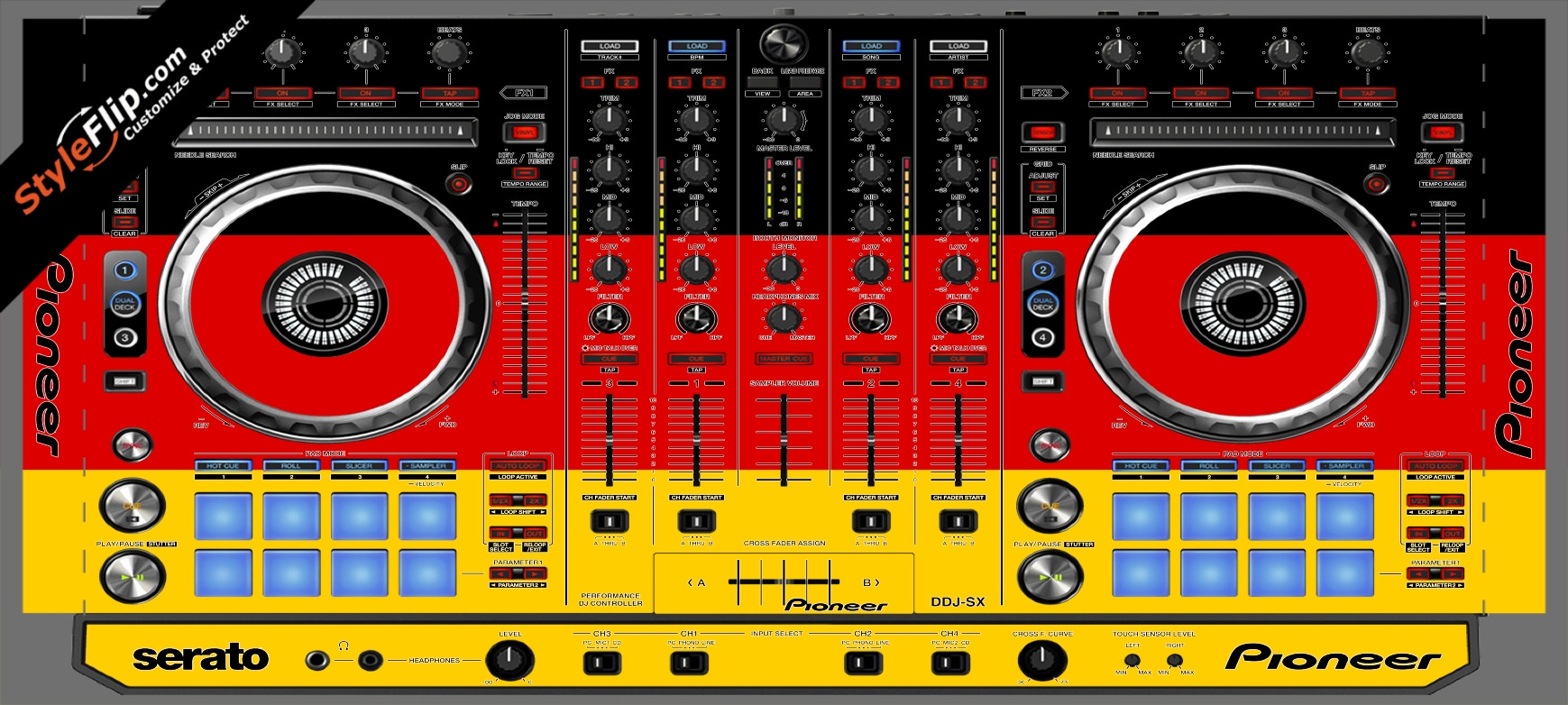 German Flag  Pioneer DDJ-SX