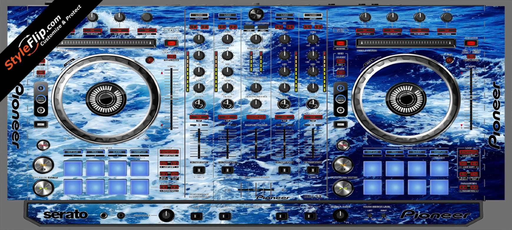 High Tide  Pioneer DDJ-SX
