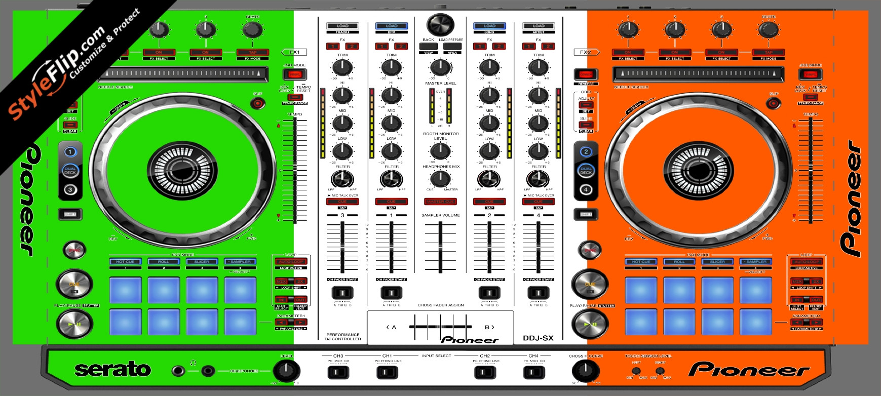 Irish Flag  Pioneer DDJ-SX