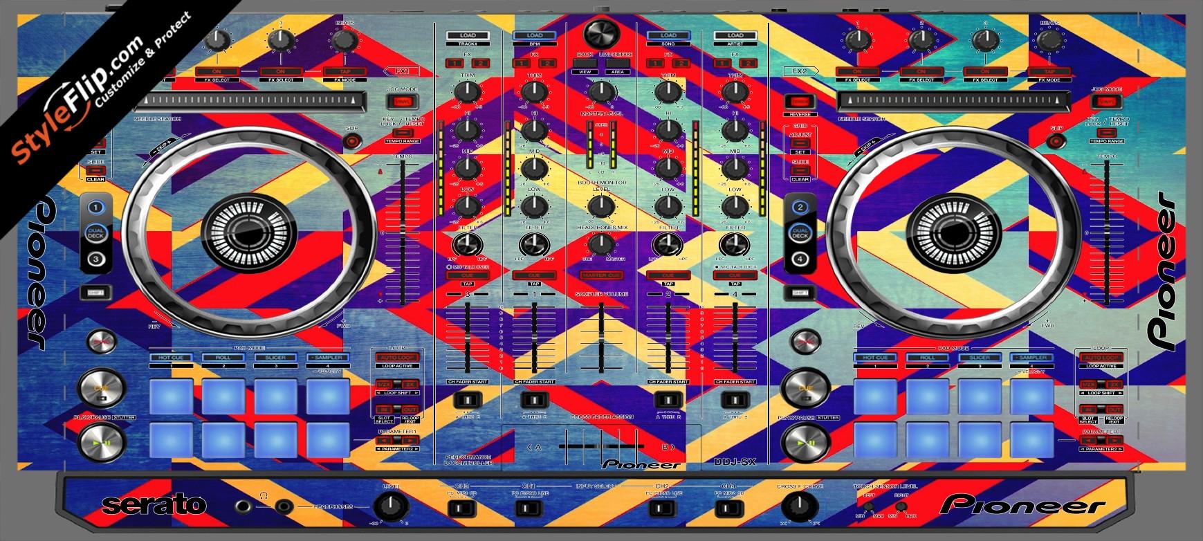 Jigsaw Pioneer DDJ-SX