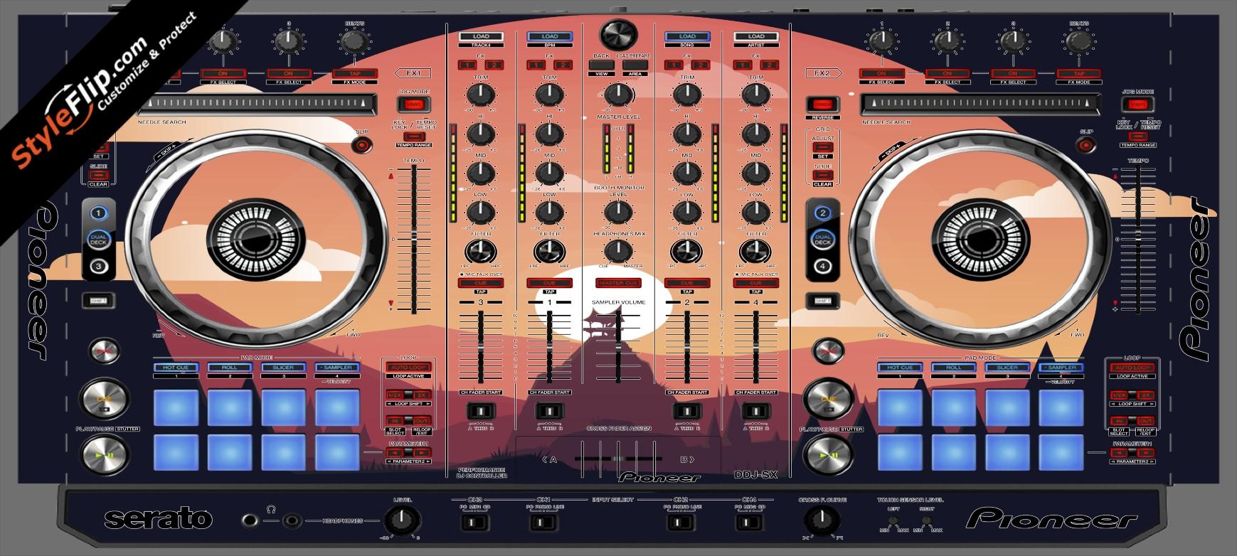 Nightfall  Pioneer DDJ-SX