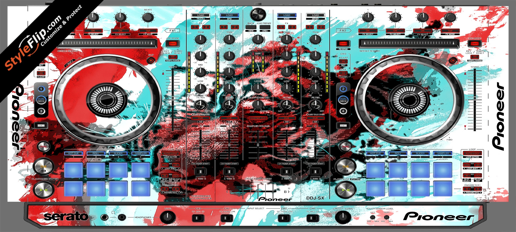 Rumble In The Jungle  Pioneer DDJ-SX
