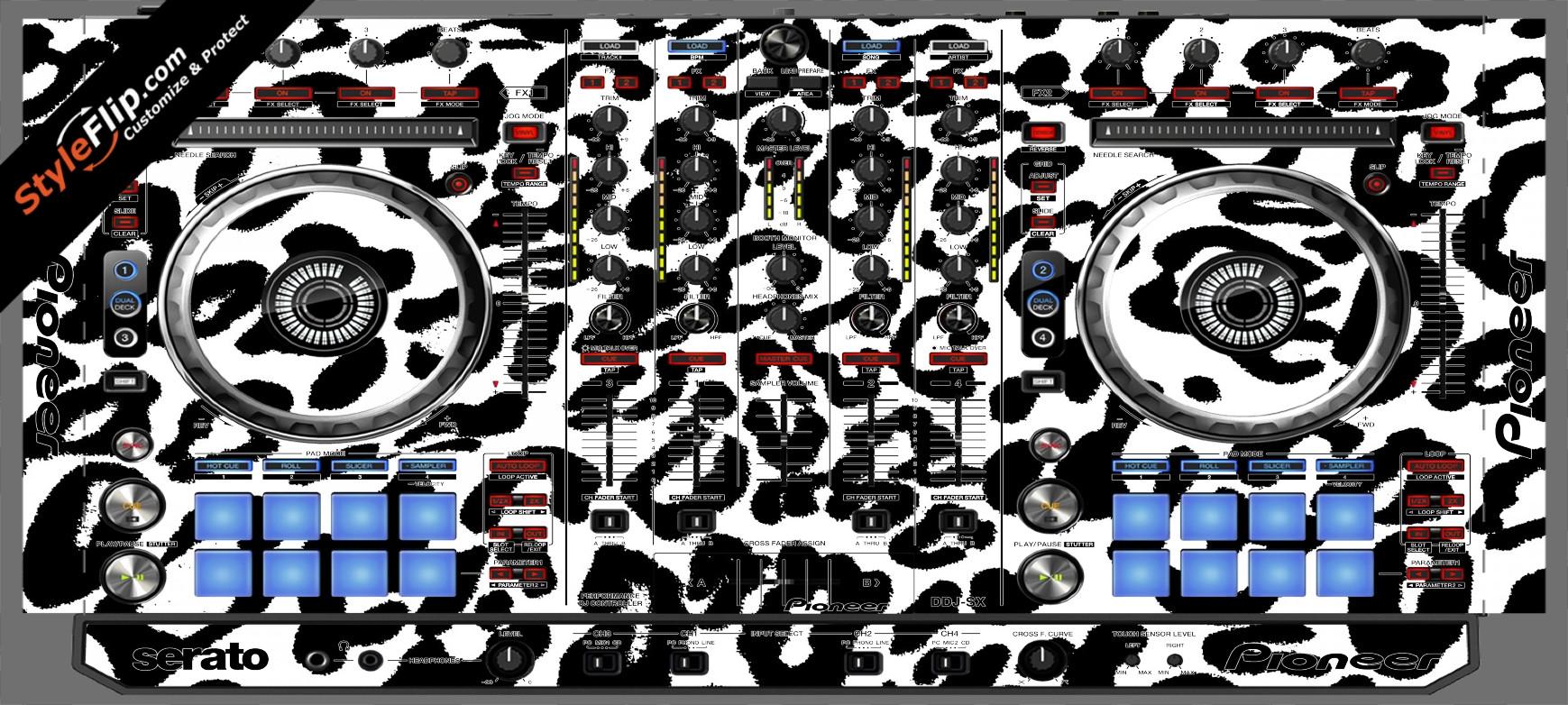 Snow Leopard  Pioneer DDJ-SX