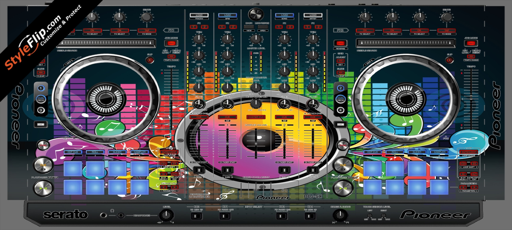 Sonic Bloom  Pioneer DDJ-SX