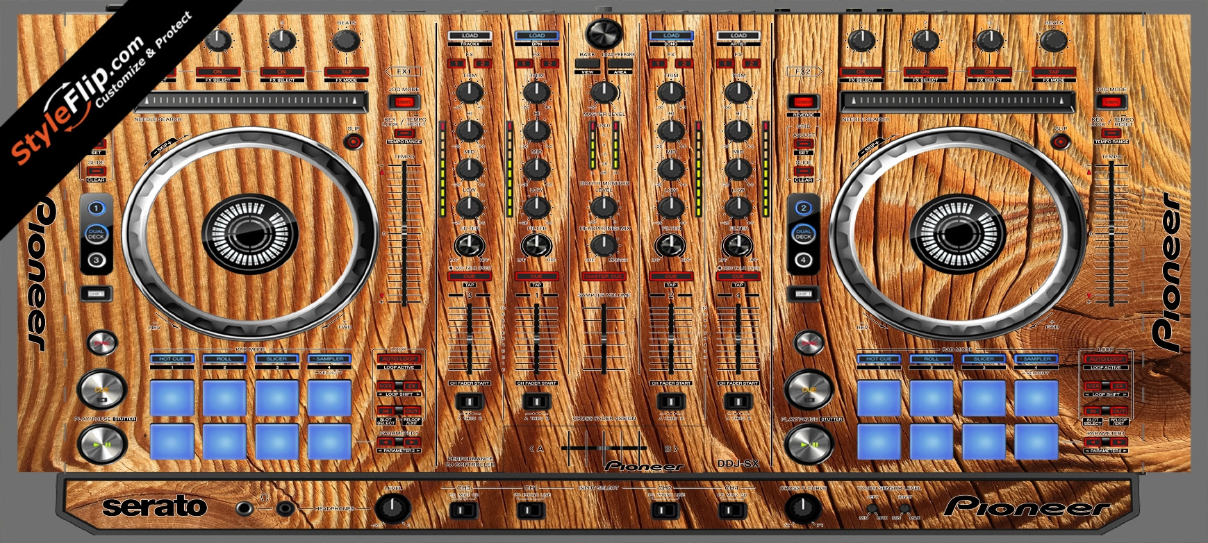 Tree Rings  Pioneer DDJ-SX