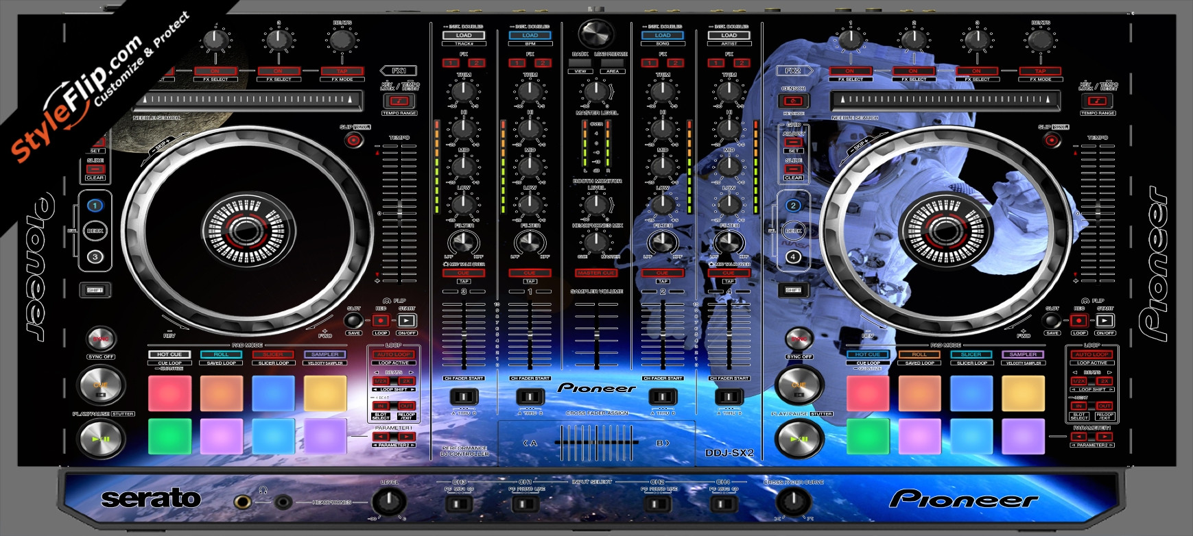 Destination Space  Pioneer DDJ-SX2