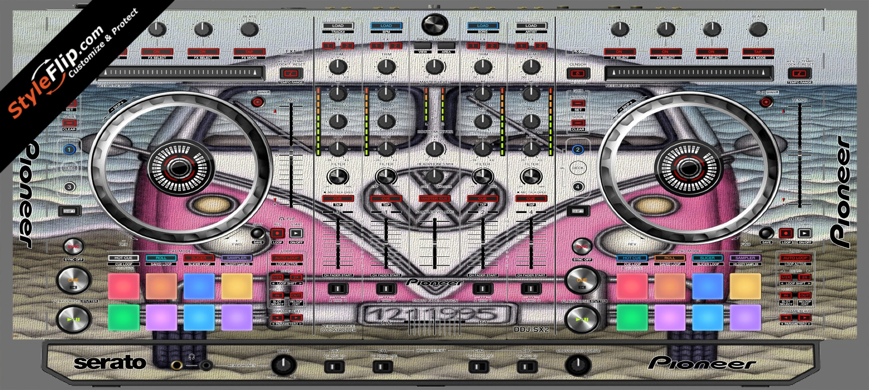 Dream Machine  Pioneer DDJ-SX2