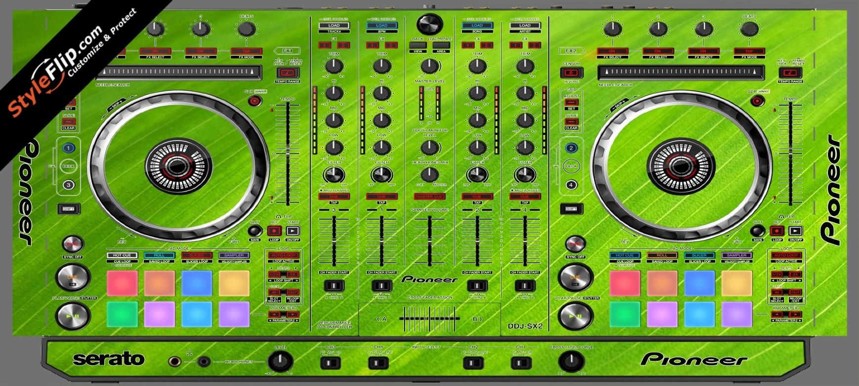 Leafy Pioneer DDJ-SX2
