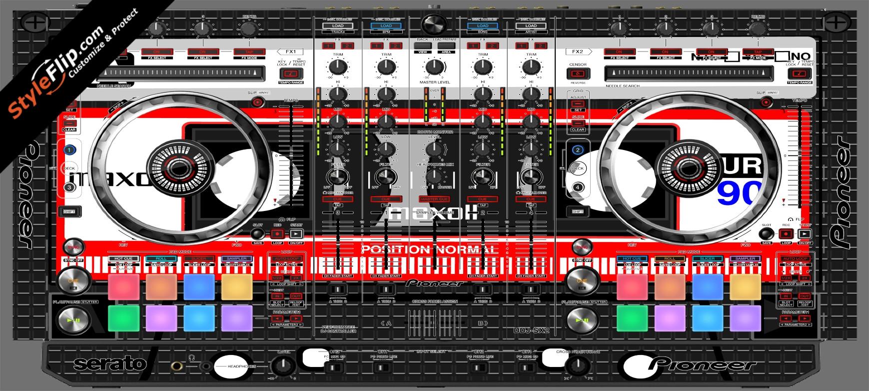 Mixtape Pioneer DDJ-SX2