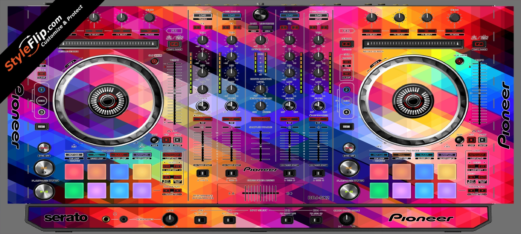 Pixalated Pioneer DDJ-SX2