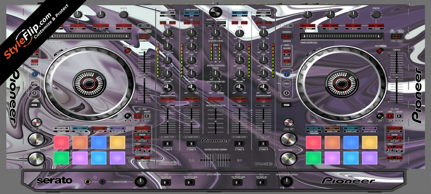 Purple Haze Pioneer DDJ-SX2
