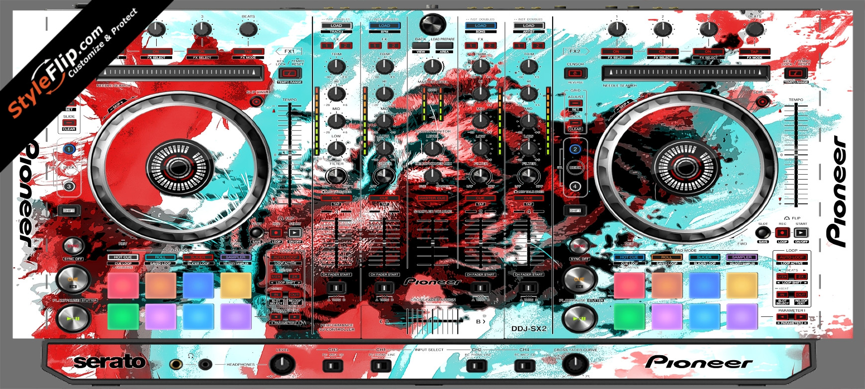 Rumble In The Jungle  Pioneer DDJ-SX2