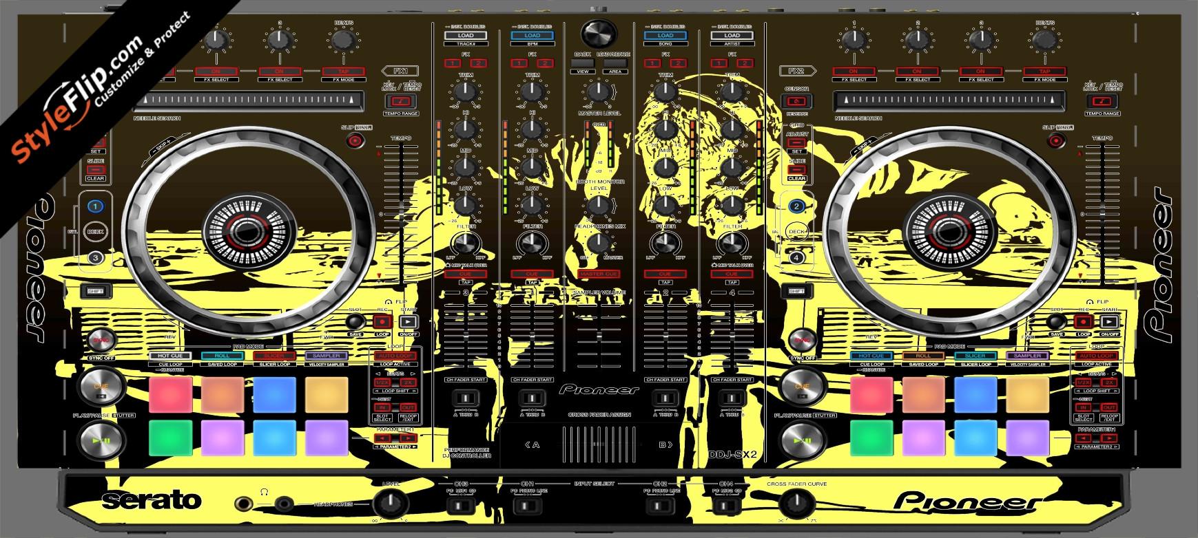 Scratch Master Pioneer DDJ-SX2