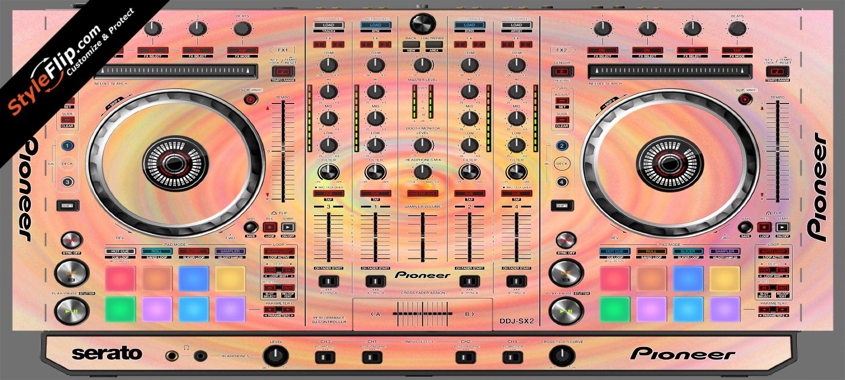 Spin Pioneer DDJ-SX2