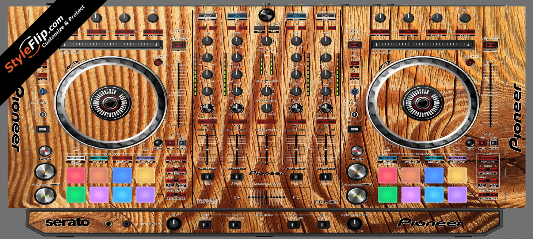 Tree Rings  Pioneer DDJ-SX2