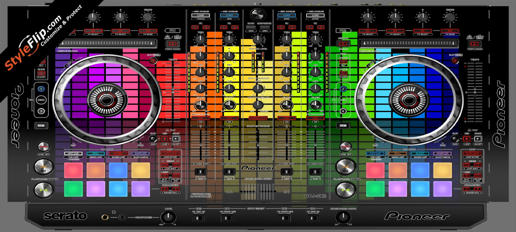 Turn Up  Pioneer DDJ-SX2