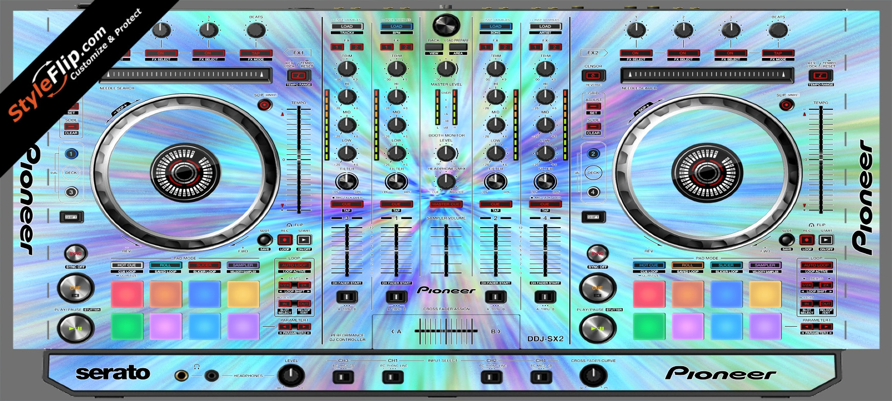 Vortex Pioneer DDJ-SX2