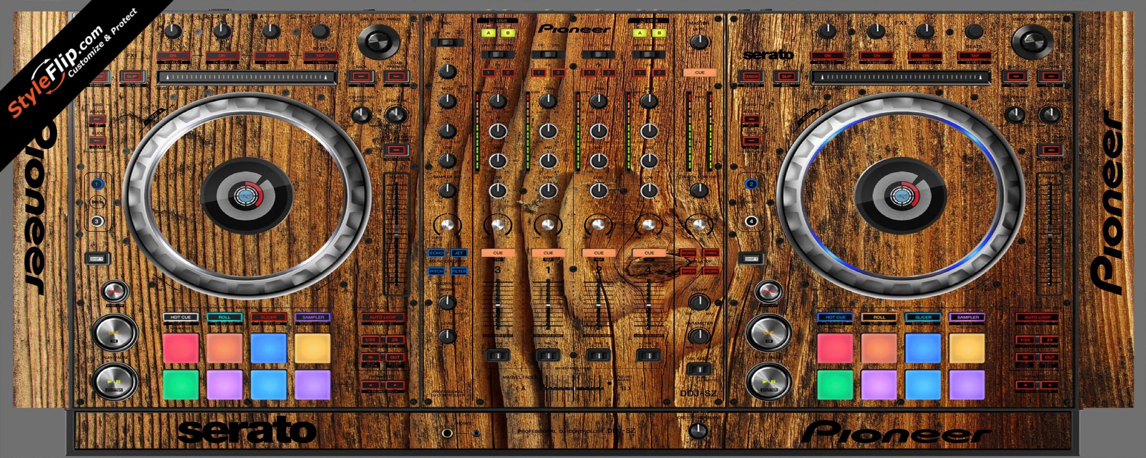 Classic Wood  Pioneer DDJ-SZ