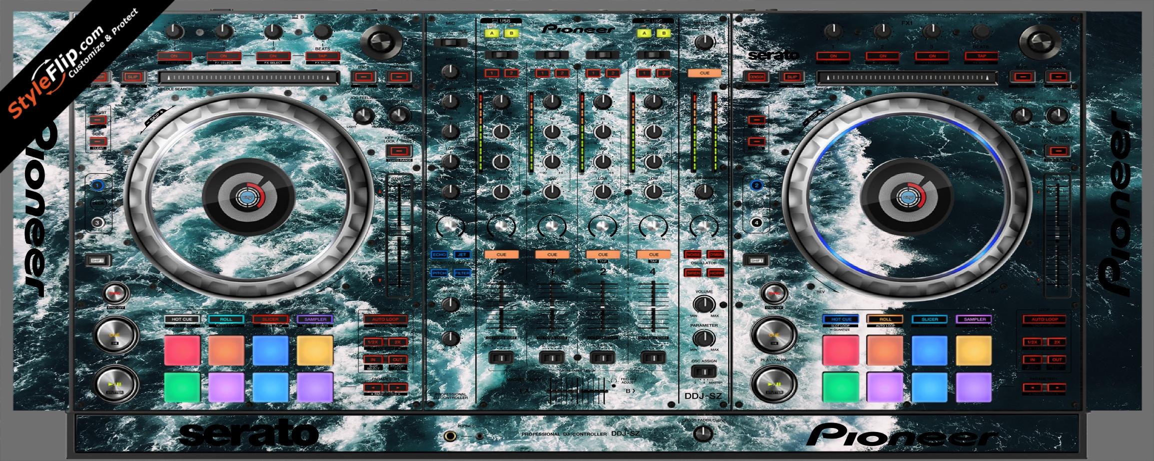 Deep Blue  Pioneer DDJ-SZ