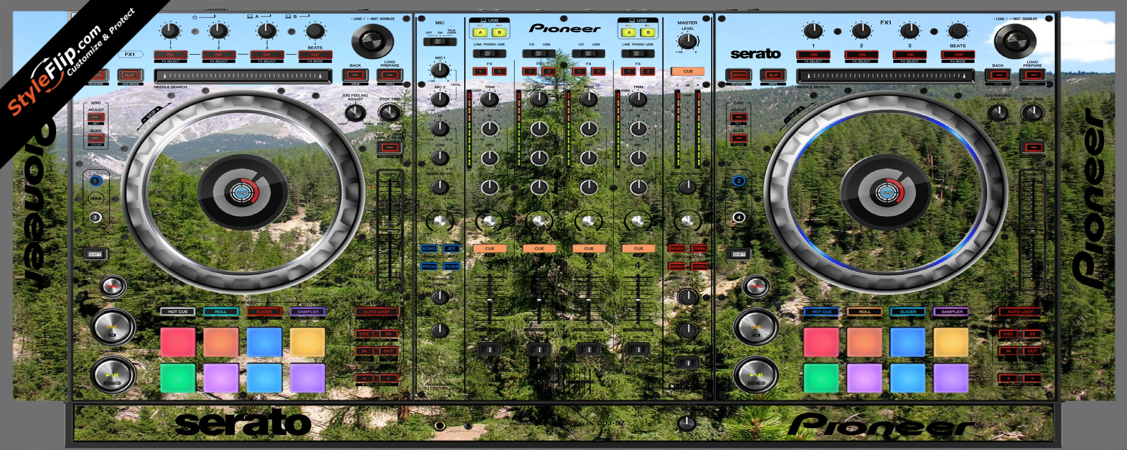 Deep In the Woods 2 Pioneer DDJ-SZ