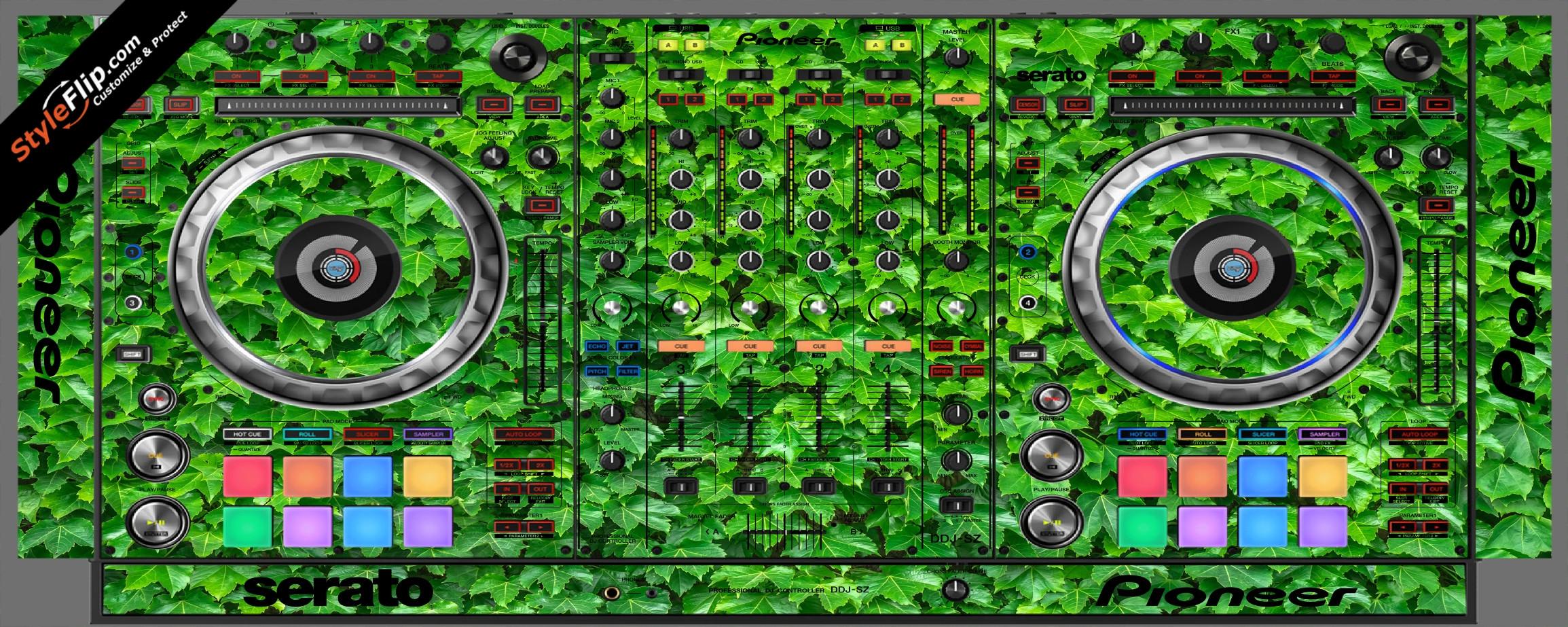 Greenery  Pioneer DDJ-SZ
