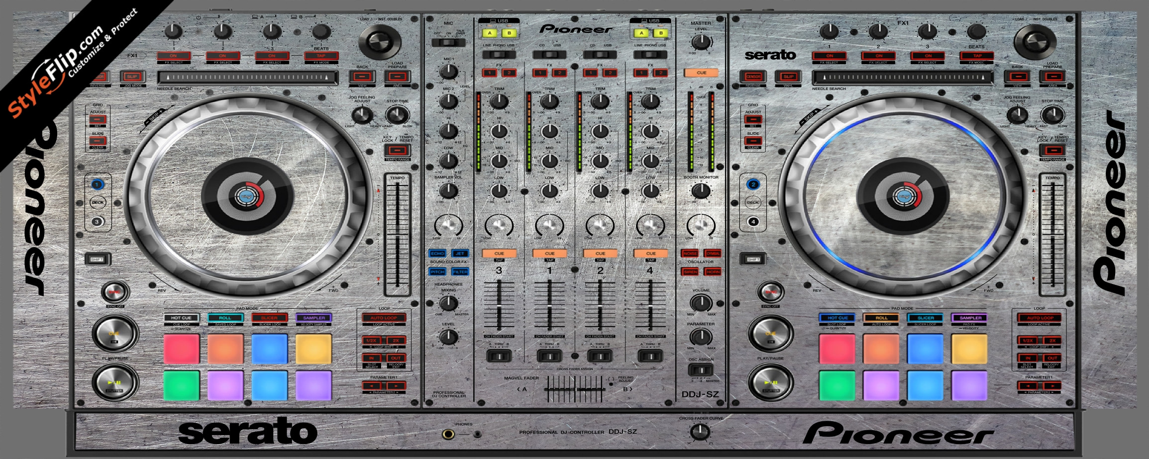Hardware  Pioneer DDJ-SZ