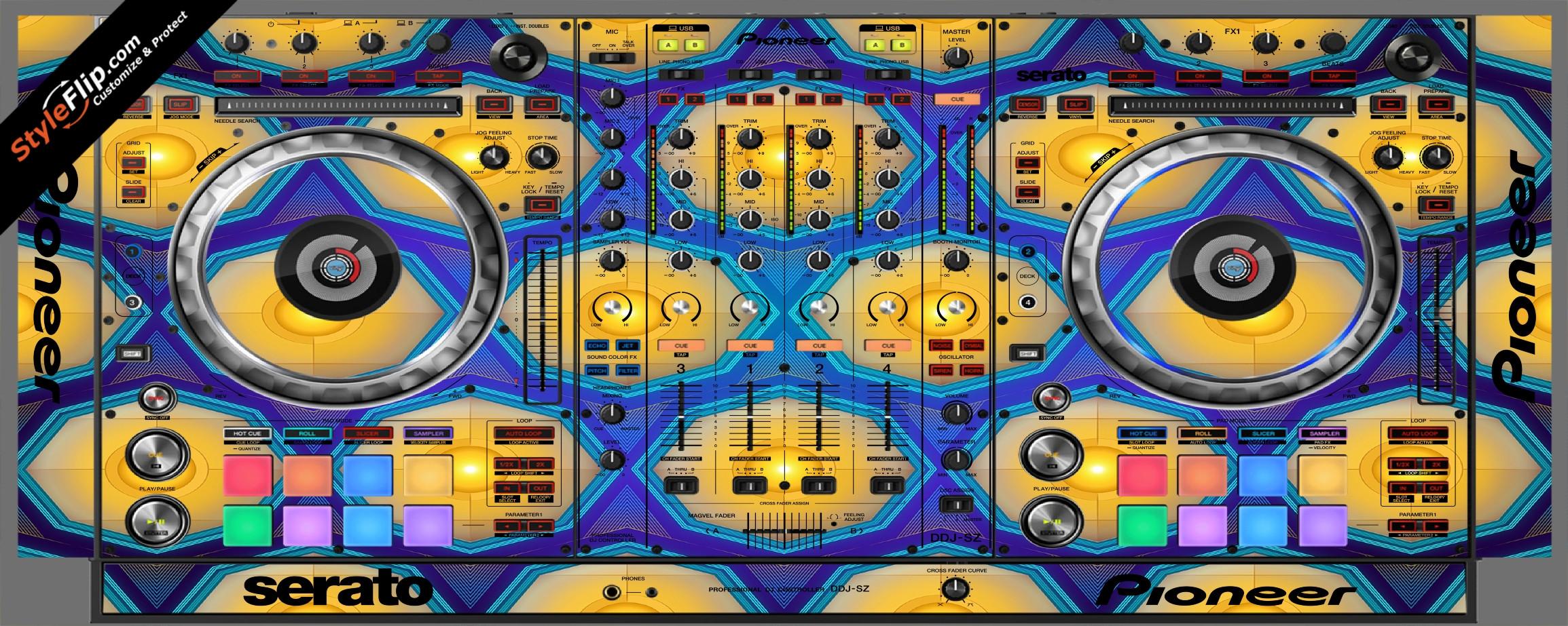 Honeycomb  Pioneer DDJ-SZ