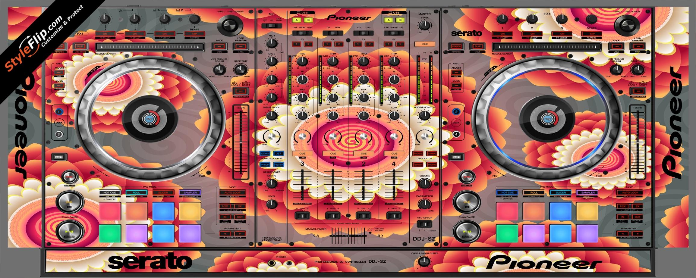 Hypnotic Pioneer DDJ-SZ