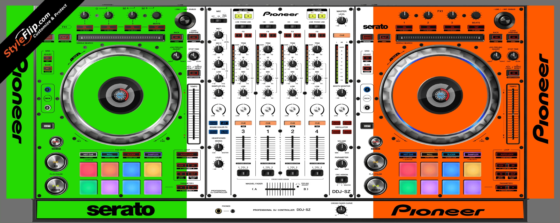 Irish Flag  Pioneer DDJ-SZ