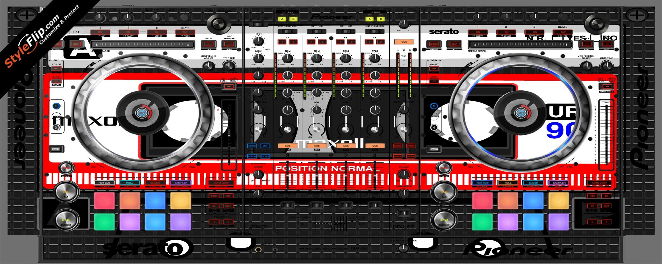 Mixtape Pioneer DDJ-SZ