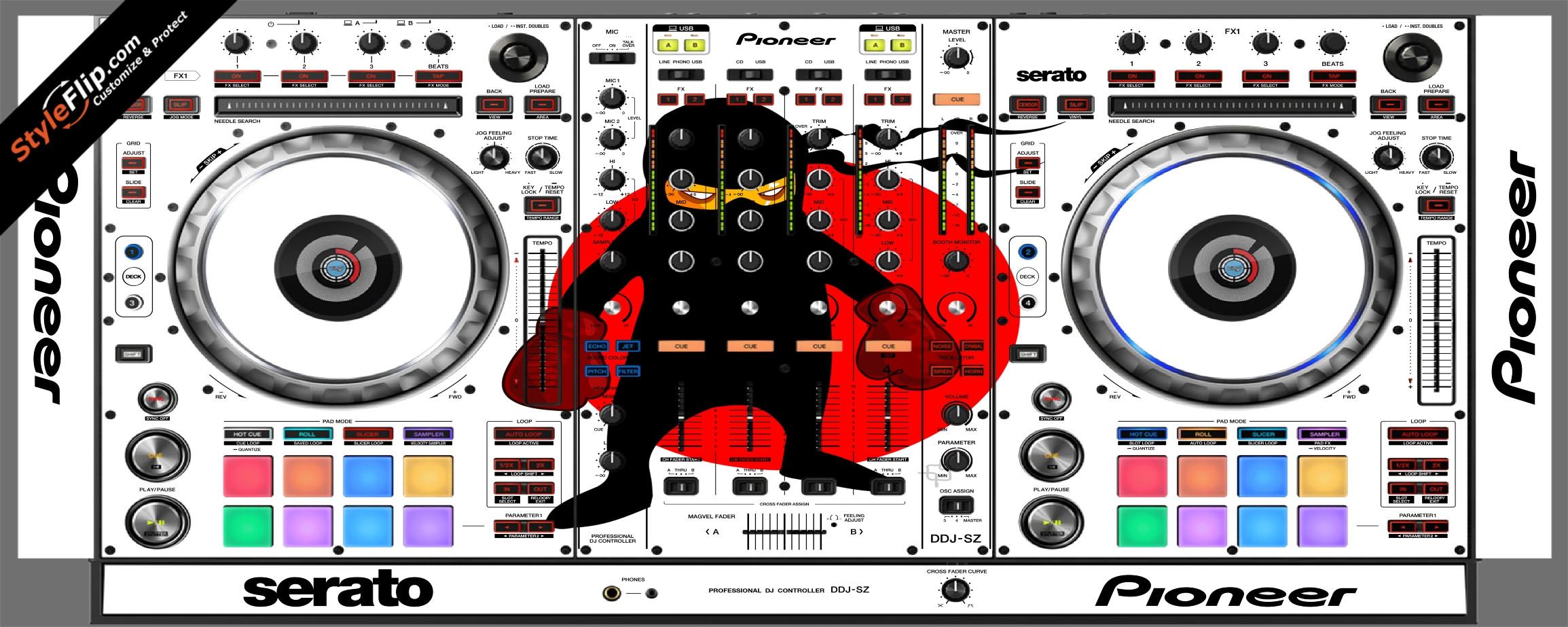 Ninja Warrior  Pioneer DDJ-SZ