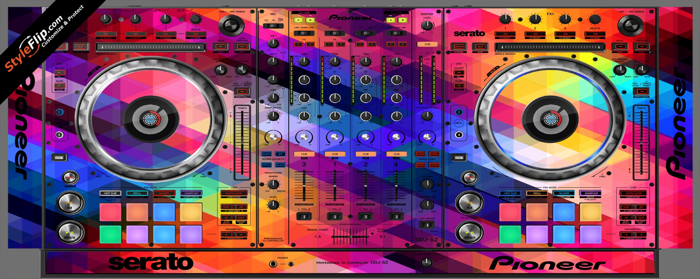 Pixalated Pioneer DDJ-SZ