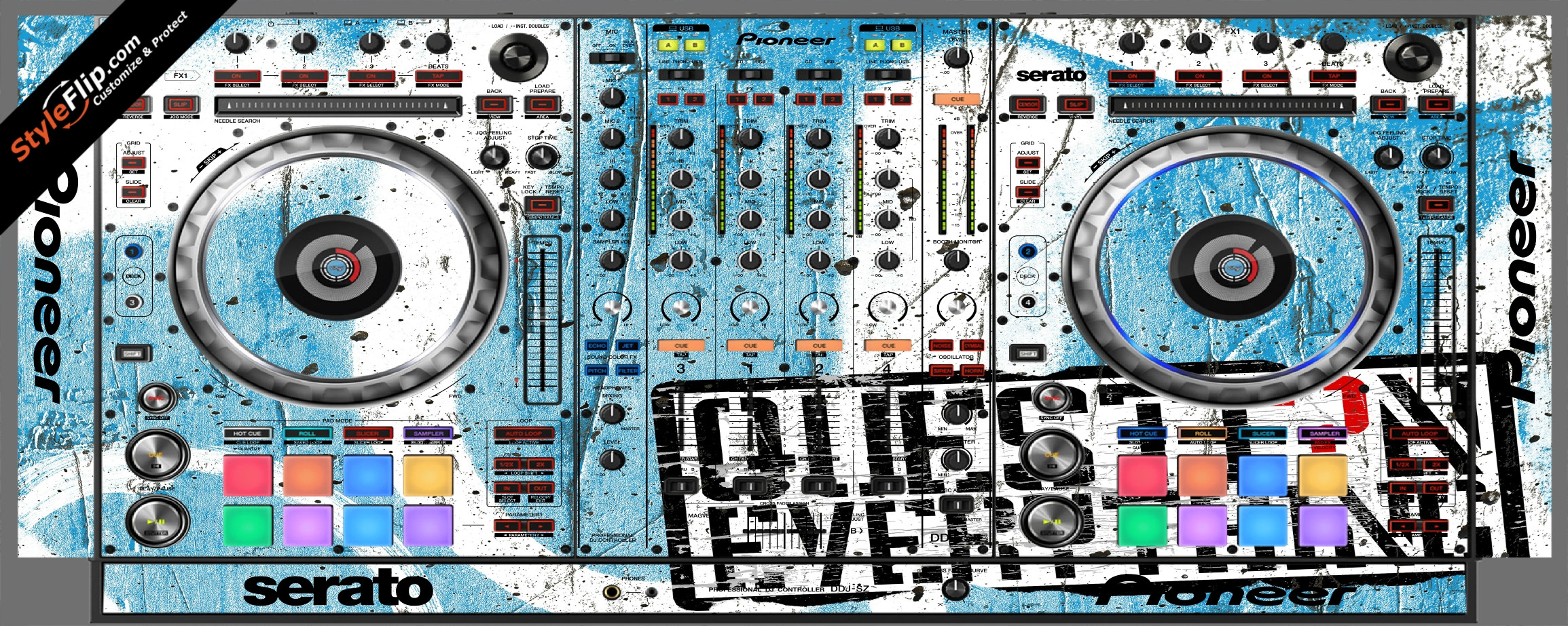 Question Everything Pioneer DDJ-SZ