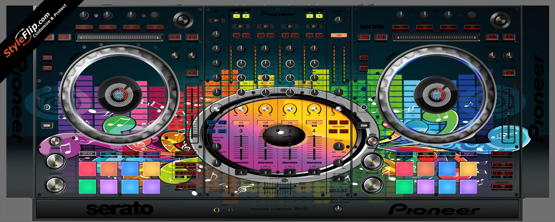 Sonic Bloom  Pioneer DDJ-SZ