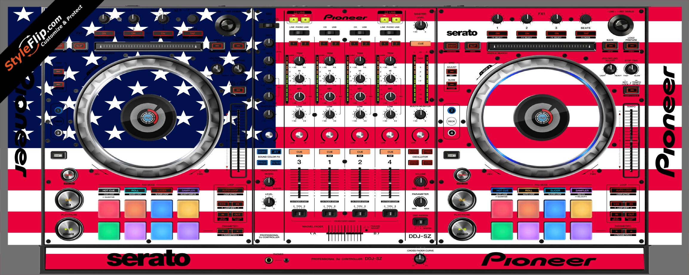 United States Of America Pioneer DDJ-SZ
