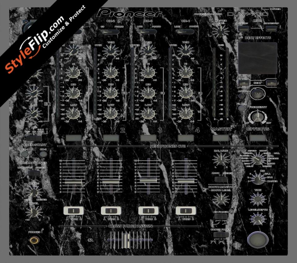 Black Marble  Pioneer DJM 700