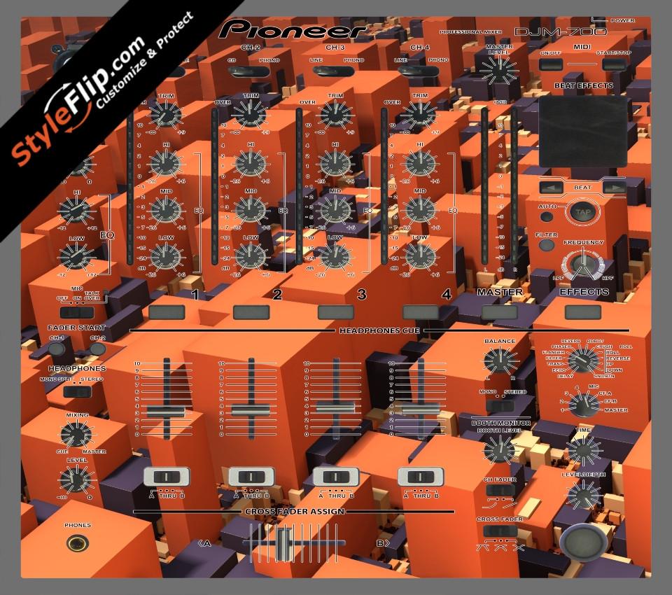 Blocked  Pioneer DJM 700