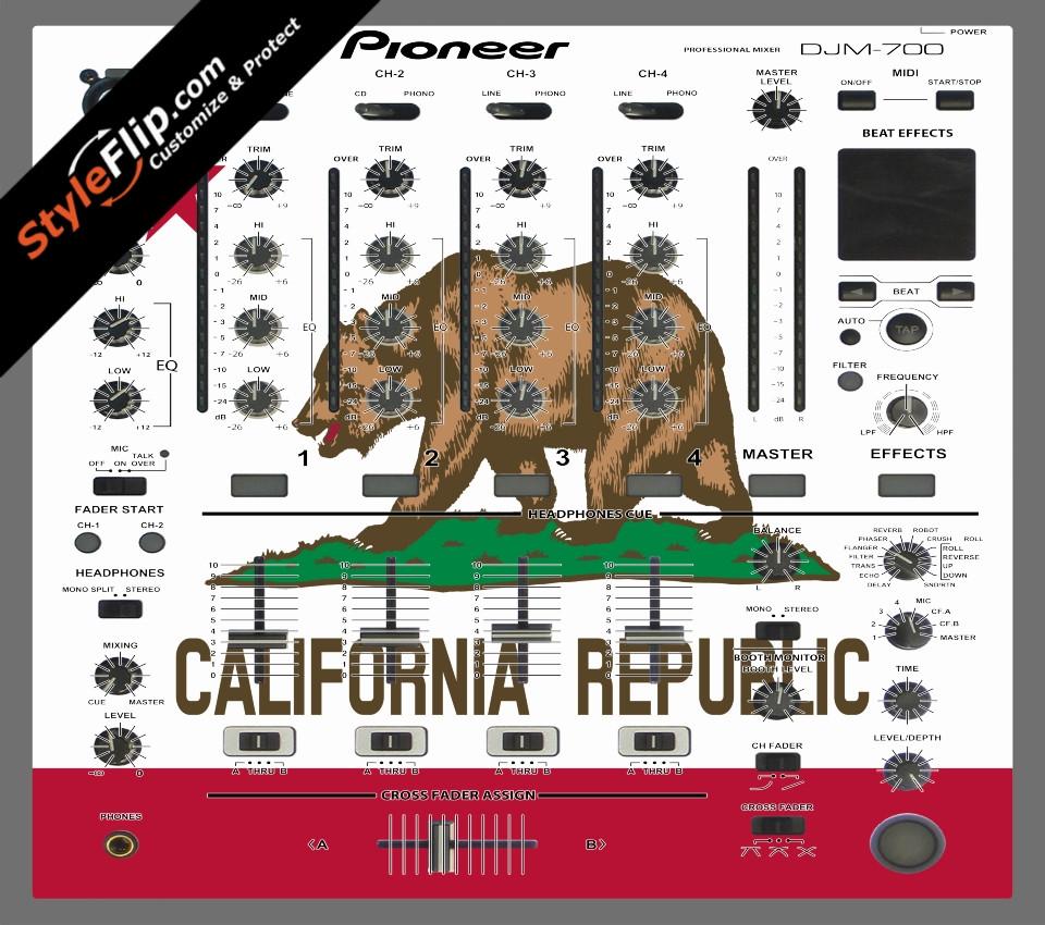 Cali Love Pioneer DJM 700