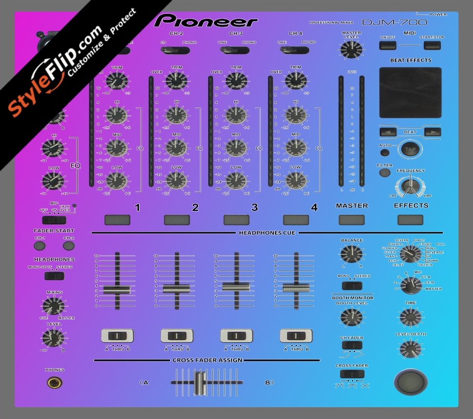 Cotton Candy Pioneer DJM 700