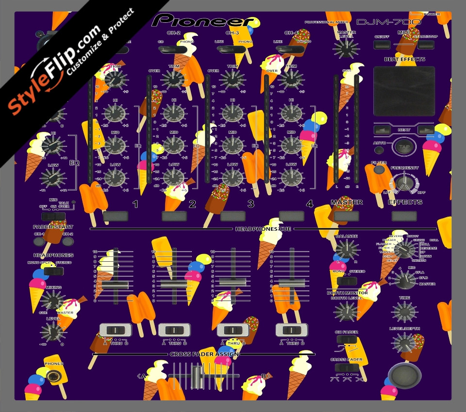Dreamsicle  Pioneer DJM 700