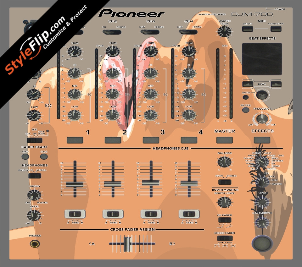 Femme Fatale  Pioneer DJM 700