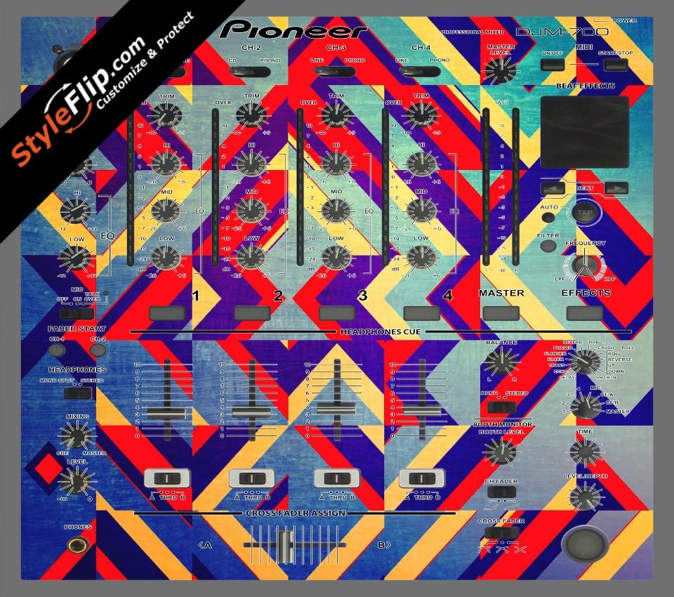 Jigsaw Pioneer DJM 700