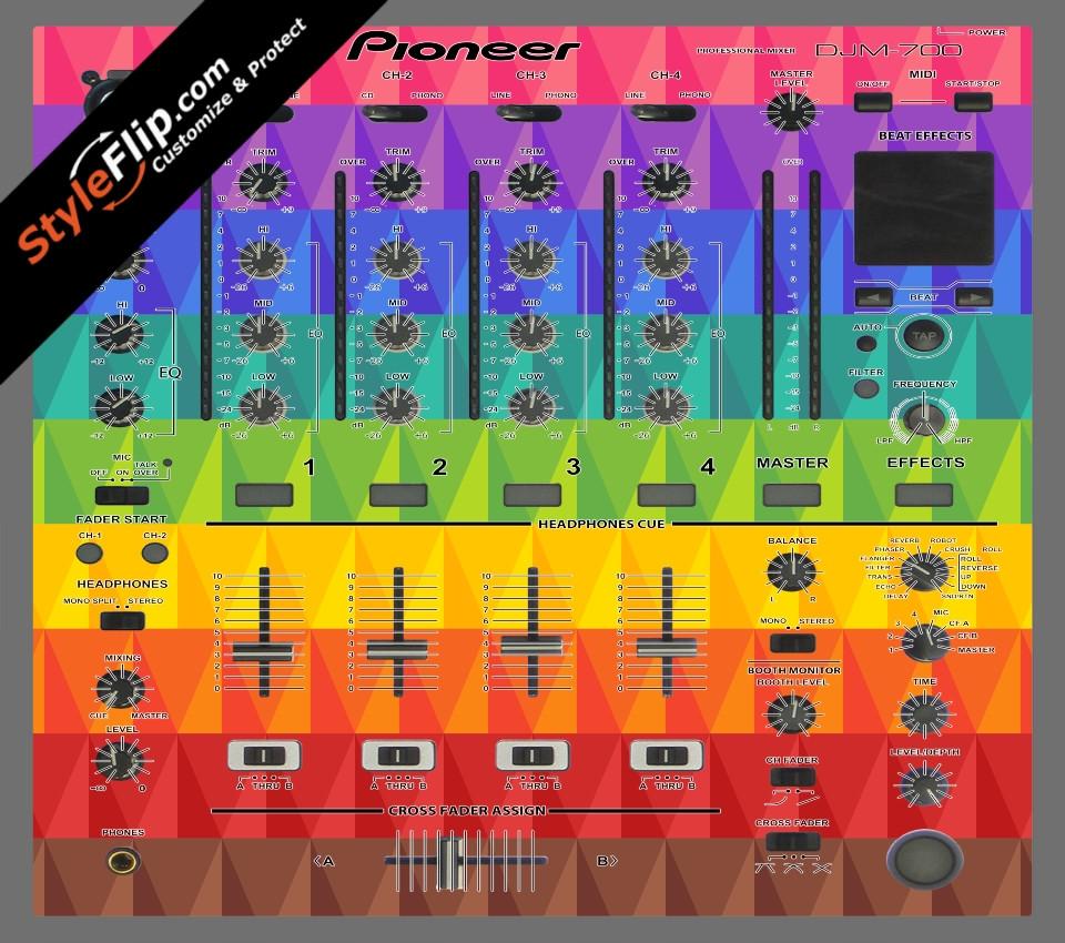 Pyramix Pioneer DJM 700