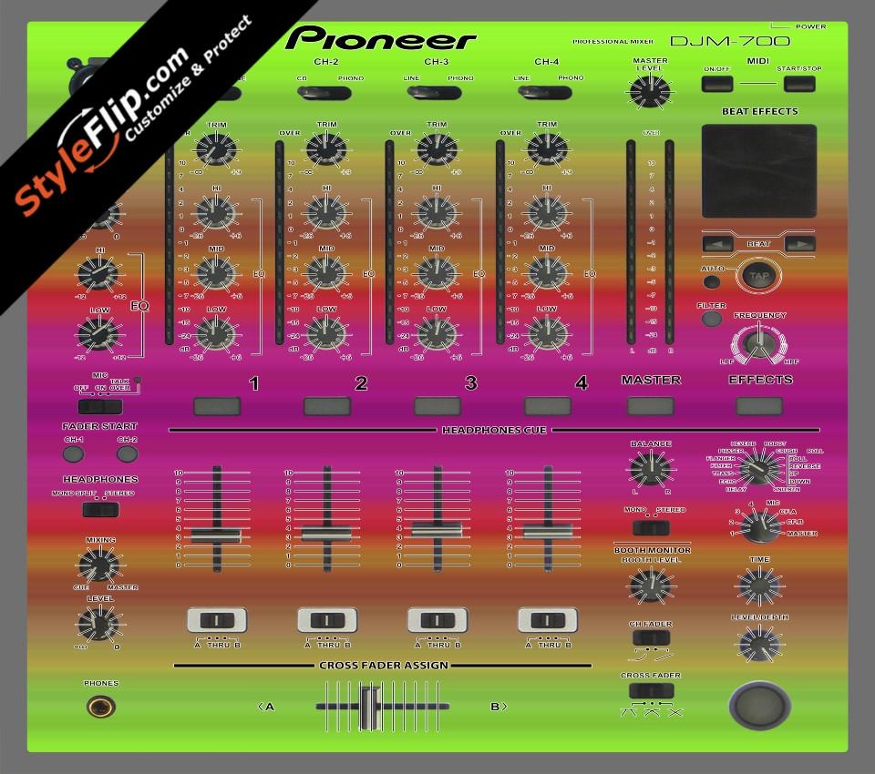 Rainbow Pioneer DJM 700