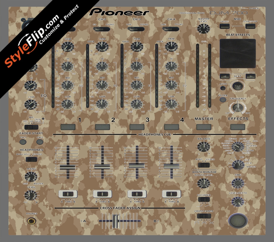 Sandstorm  Pioneer DJM 700