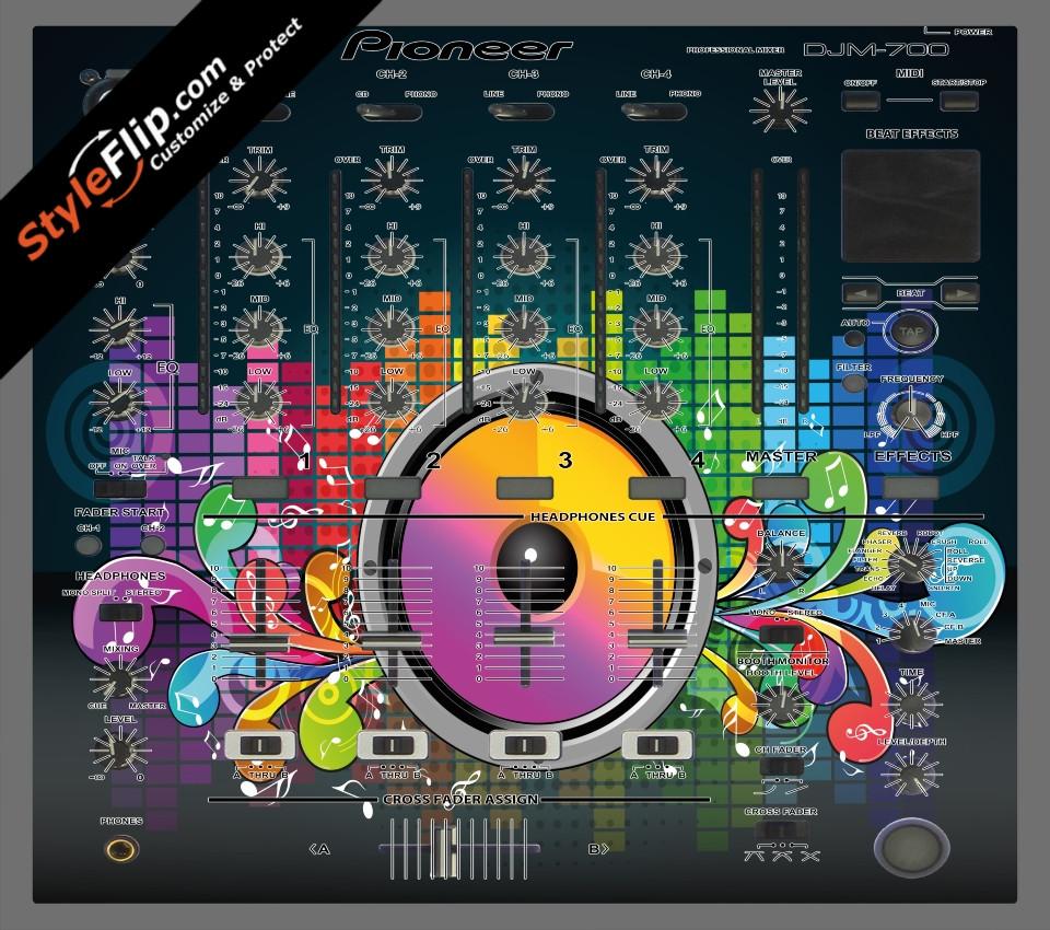 Sonic Bloom  Pioneer DJM 700